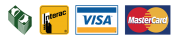 Cash, Interac, Visa et Master Card